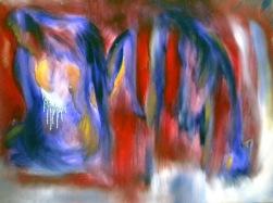 FALLEN / Oil on canvas / 60x80cm / $600