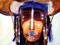 SILENT MESSENGER / Oil on canvas / 60x80cm / $600