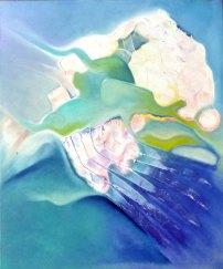 MIZU / Oil on canvas / 50x60cm / $375